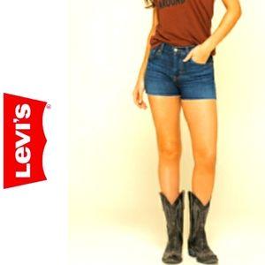 Levi's 505 Vintage Cut Off Jean Shorts Size 16